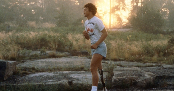 Terry Fox running